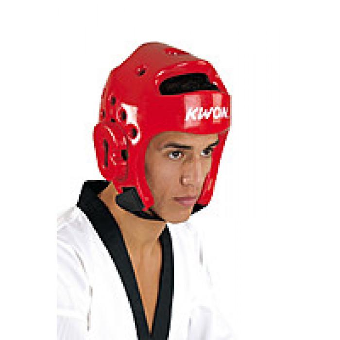Шлем для тхэквондо Kwon WTF Red р. M